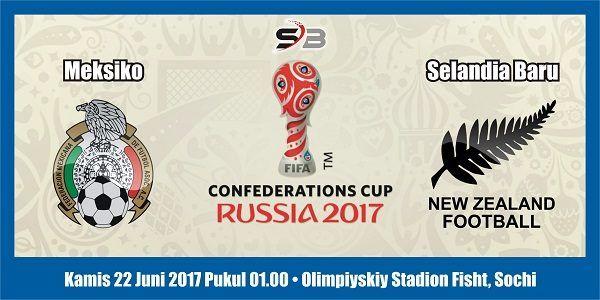 Prediksi Bola Meksiko vs Selandia Baru 22 Juni 2017