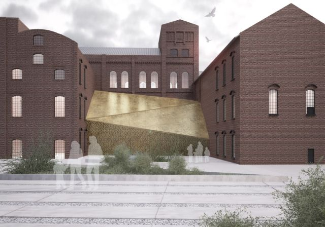 concept of revitalization of sugar factory area placed in Pruszcz Gdański; project: make Architekci