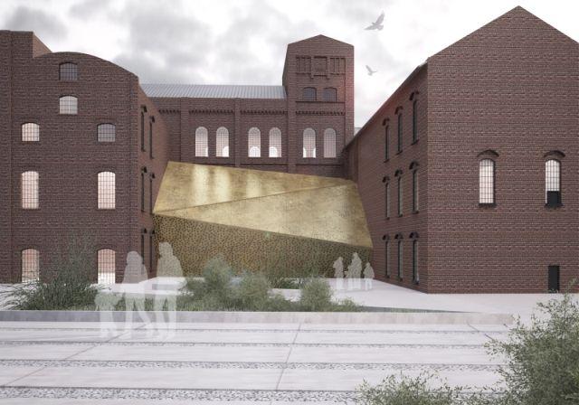 concept of revitalization of sugar factory area placed in Pruszcz Gdański; project: make Architekci