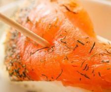 Salmón marinado con wasabi de yogur #thermomix www.robot-cocina.com