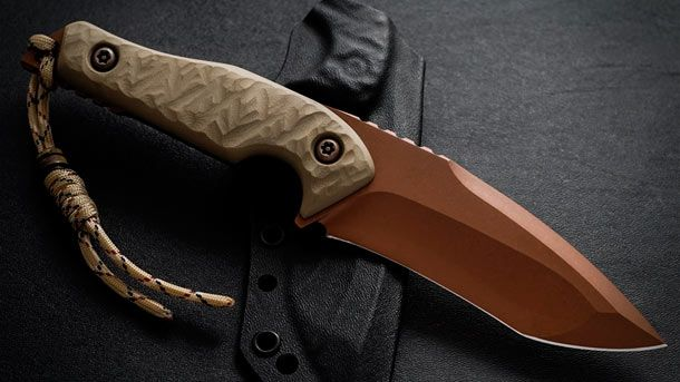 Torbé Custom Knives представила новую модель ножа с фиксированным клинком - TCK Doppler