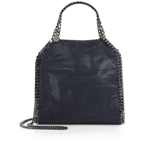 ba81da105e24 Stella McCartney Mini Baby Bella Shoulder Bag (€725) ❤ liked on Polyvore  featuring · Mini HandbagsBlack HandbagsTote ...