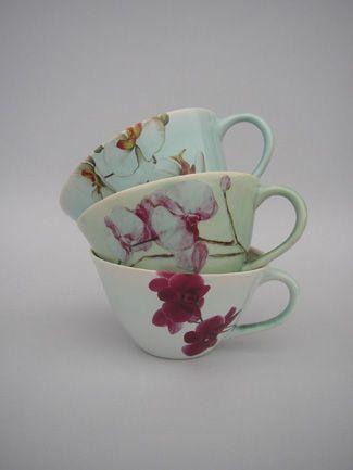 Sarah Reed teacups