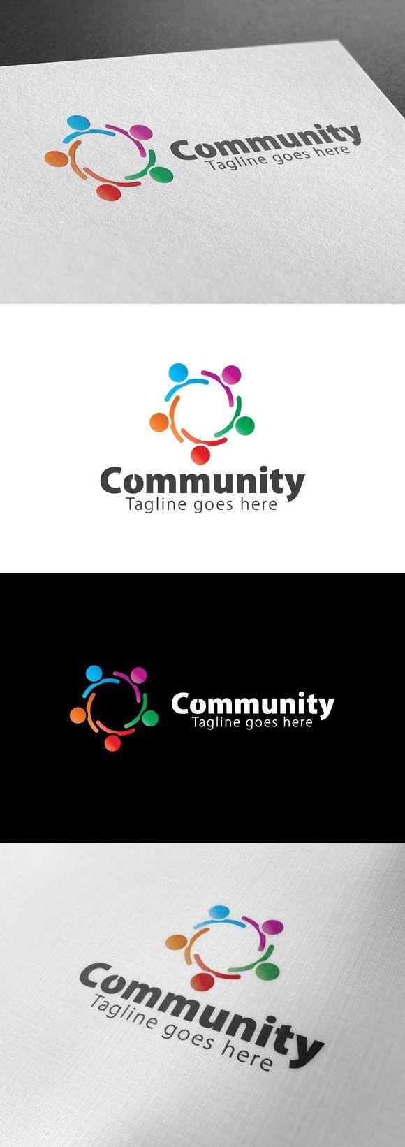 Community Logo. Logo Templates. $28.00