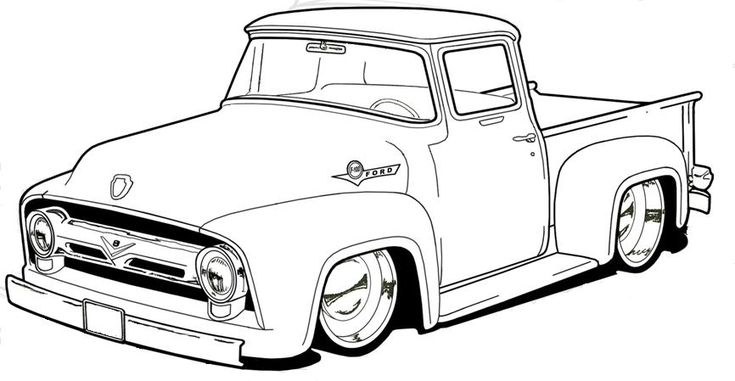 1953 ford truck hot rod