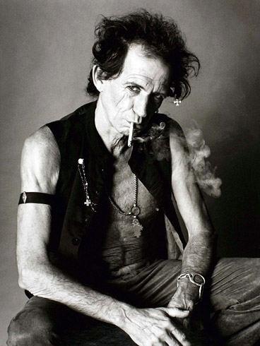 Keith Richards  By  Sante D'Orazio