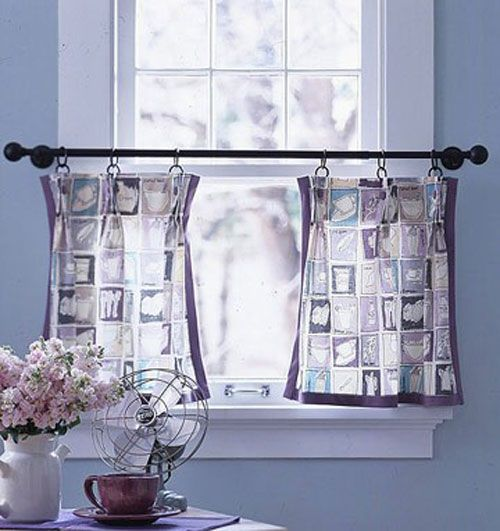 minimalist curtains for small windows