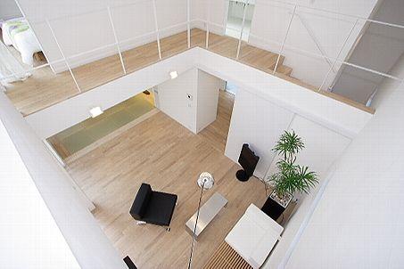 吹き抜けを回遊する廊下 - 住宅設計・構造設計 - 専門家プロファイル