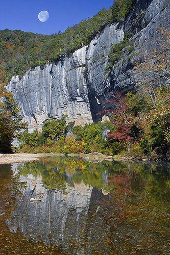 Roark Bluff Reflections, Buffalo River National Park, Arkansas