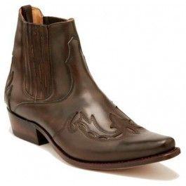 Sancho - Sancho Boots Western Stiefelette MONK- braun / brown