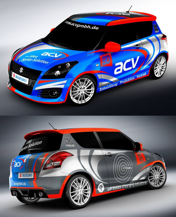 Suzuki Swift asymmetric racing livery design. We collect and generate ideas: ufx.dk