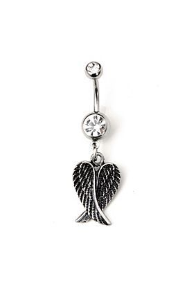 angel wings  my favorite belly button ring everr   lt 3