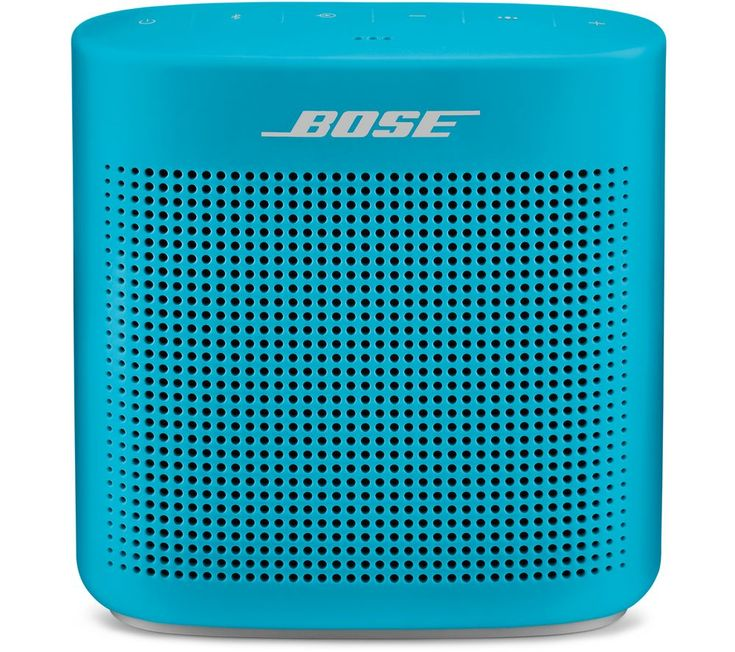 Buy BOSE Soundlink Color II Portable Bluetooth Wireless Speaker - Aqua, Aqua Price: £129.95 Top features:- Enjoy great sound quality wherever you go - Listen almost anywhere thanks to a rugged water-resistant design - Pair easily with a Bluetooth device using voice prompts - Get up to 8-hours of battery life on a single charge Enjoy great sound qualityThe Bose Soundlink Color II Portable...