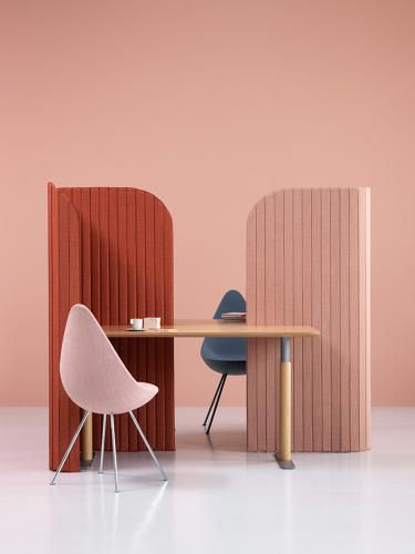 Passive-Aggressively Protest Your Open Office With These Portable Room Dividers | Co.Design | business + design