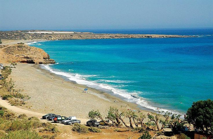 The first image that you get while reaching Diaskari beach in Makrigialos, South Crete. Dont get blazed, walk right to it. Enjoy!