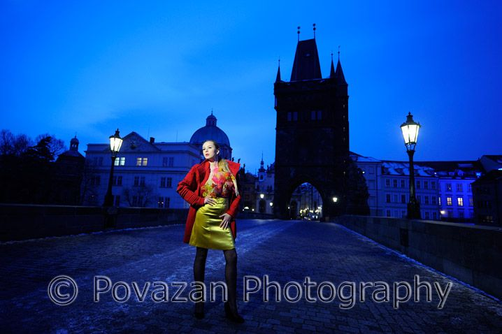 Fashion Prague photo-shoot with Vancouver wedding photographer - Jozef Povazan from Povazan Photography