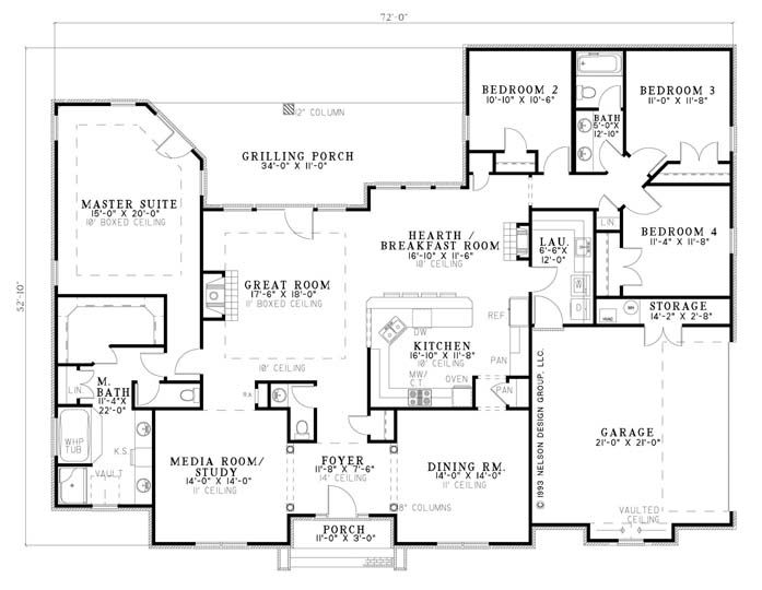117 best house plans 2 500 3 000 sq ft images on for 2500 sq ft ranch house plans