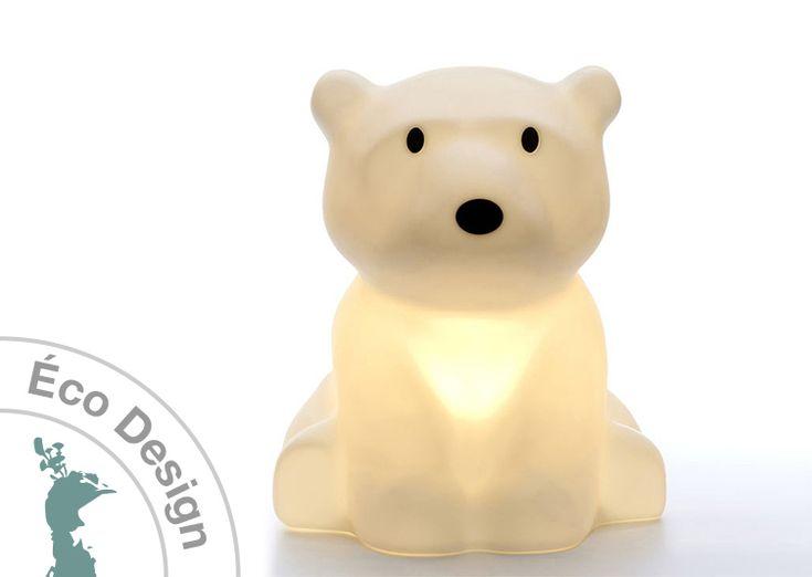 Livraison offerte pour cette lampe à poser pour enfant Nanuk l'ours polaire de…