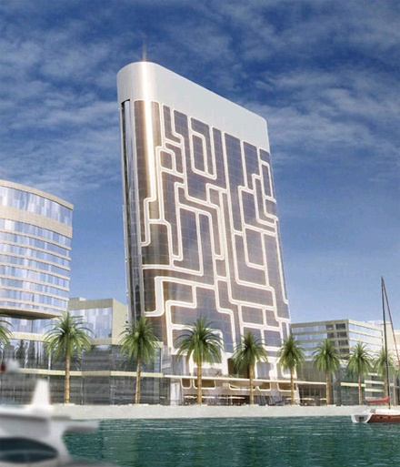 high tech building nicknamed ipod in dubai but could be