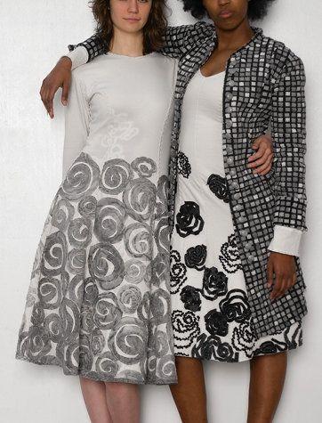 Наивные узоры Natalie Chanin / Декор / Модный сайт о стильной переделке одежды и…
