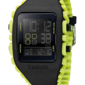 Paying tribute to the iconic Reebok ZigTech sole design, the Z1G watch is a prime example of design paired with function. The double-injection single body watch made of the smoothest silicone wraps delicately around your wrist, showcasing its iconic wave pattern, allowing for optimal aeration. The unisex size of 41 mm and its colourful renditions will look equally stunning on a woman's wrist as on a men's. Being the perfect companion for leisure and sport, water proof up to 50 meters…