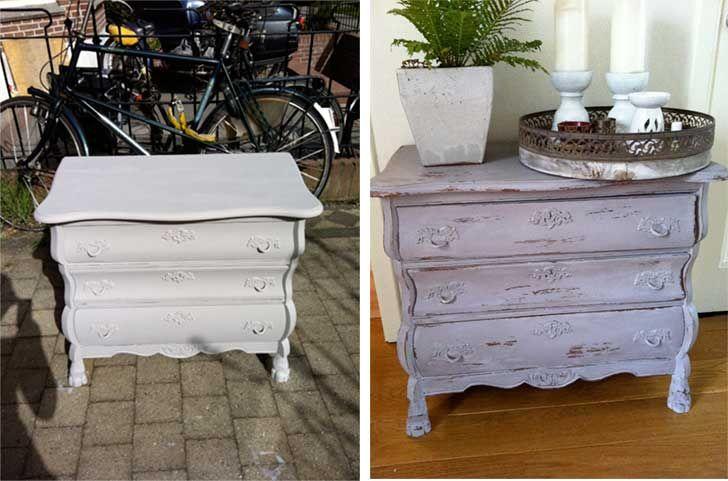 25 beste idee n over meubels verven op pinterest beschilderde meubels afgewerkt meubilair en - Donkergrijze verf ...