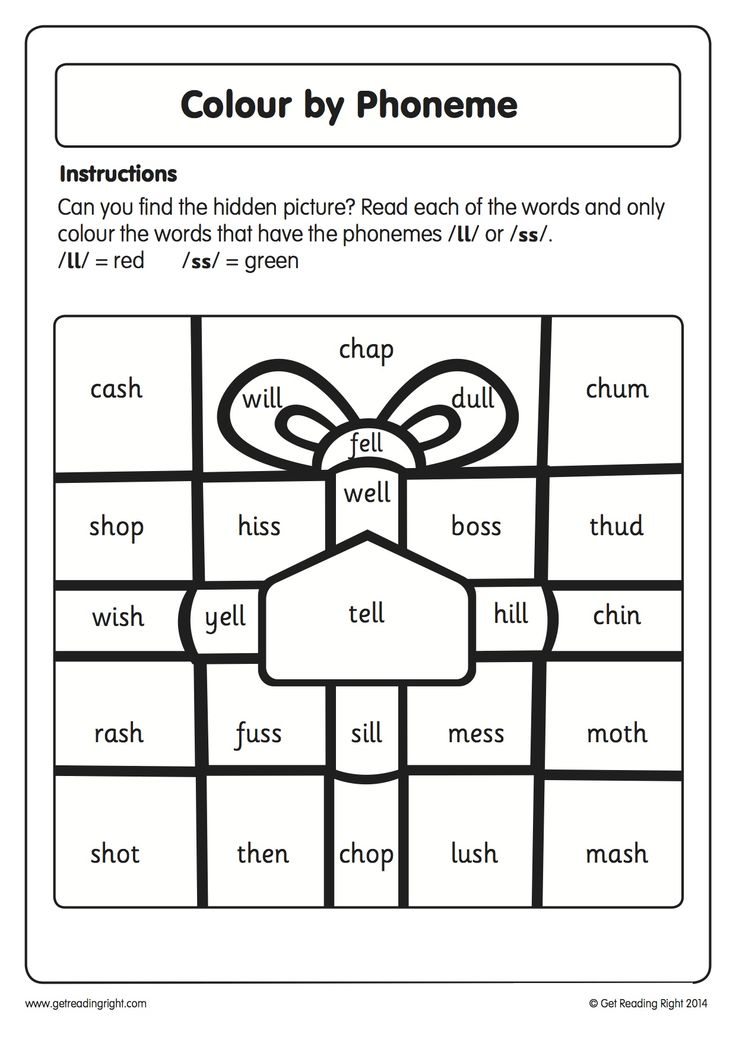 Our Colour by Phoneme worksheet is designed to help children practise their decoding and grapheme recognition skills.