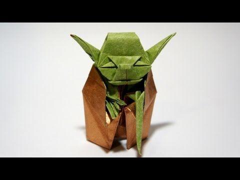 DIY Star Wars Yoda en Origami - Idées et conseils Origami