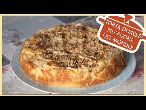 Torta di Mele in POCHI MINUTI ! -(senza forno) - YouTube