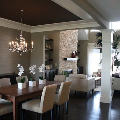 dining room ceiling houzz dining rooms dark ceiling modern dining