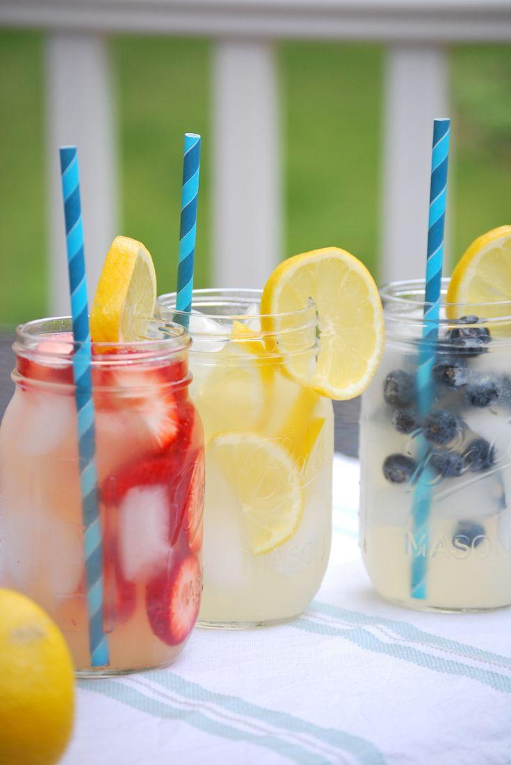Summertime Spiked Lemonade via @simplegreenmoms