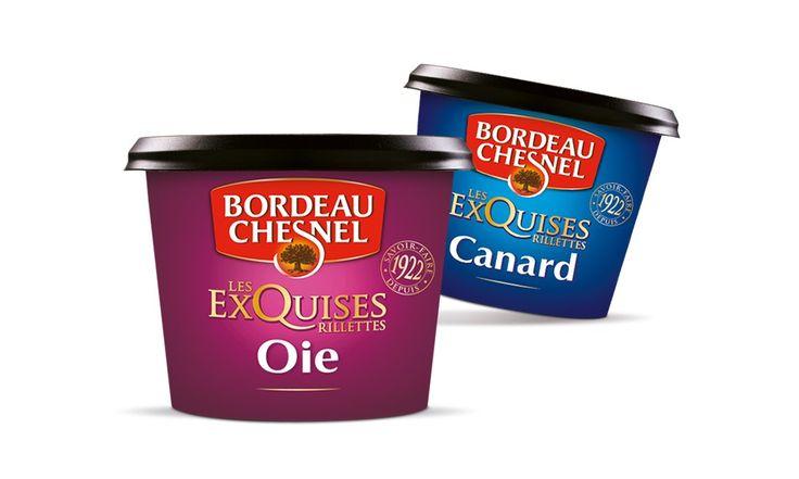 """BORDEAU CHESNEL - Gamme de rillettes """"Les Exquises"""" - Portfolio"""