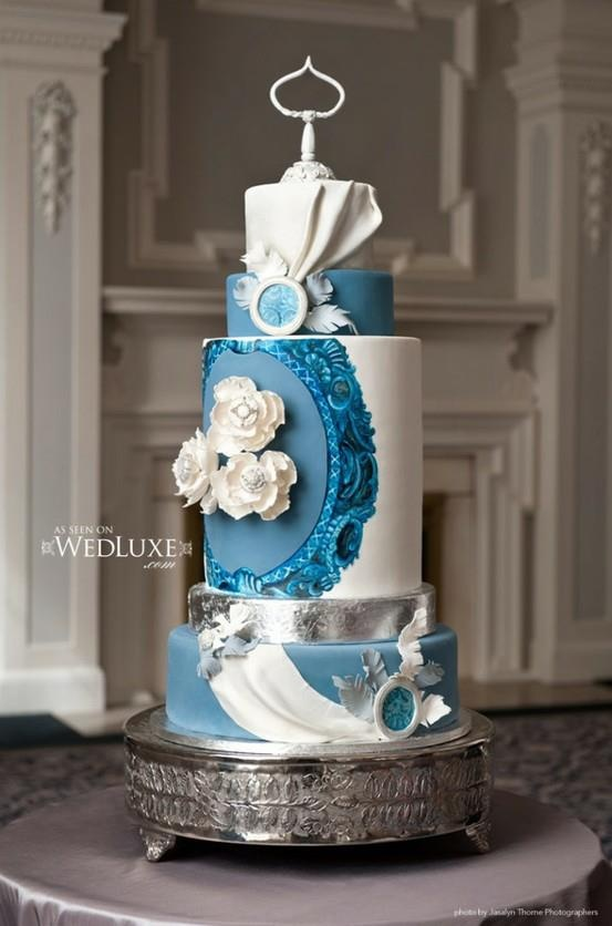 wedding cake silver and blue 1000 images about blue and silver wedding cakes on 24547