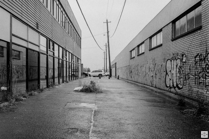 https://flic.kr/p/FyuTBz | street | My Canberra - on film mainly somewhere in Belconnen, back in 2014  ... just another anonymous lane ...  Olympus XA, Kodak T-Max 100  www.pavelvrzala.com