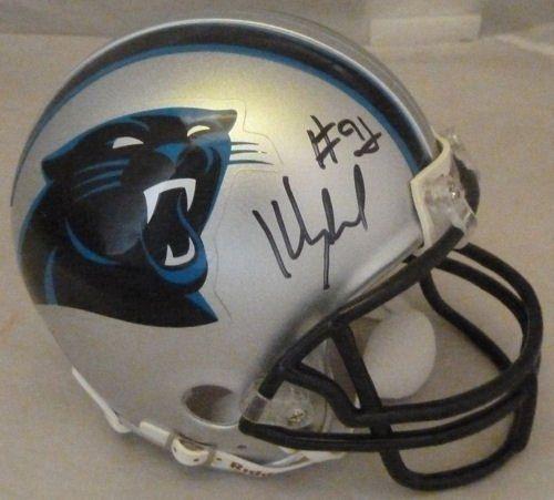 Kevin Greene Carolina Panthers Helmets