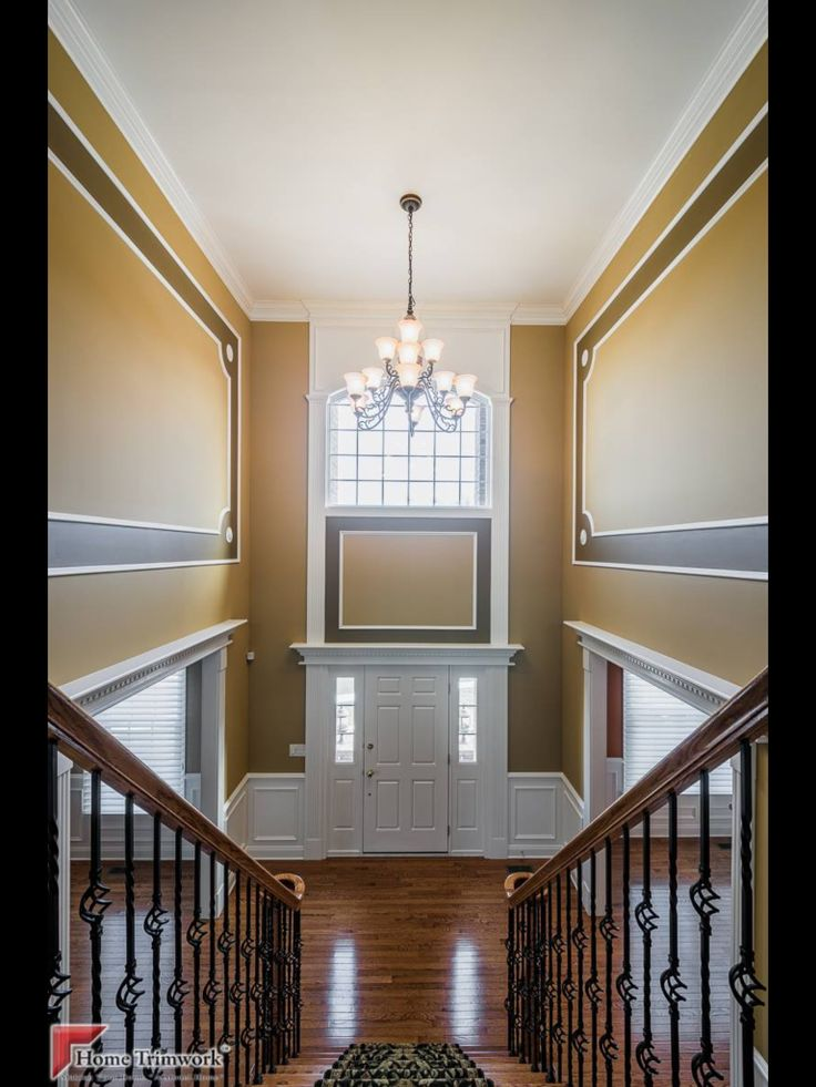 Foyer Molding Ideas : Foyer by home trimwork time pinterest