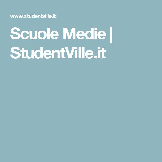 Scuole Medie | StudentVille.it