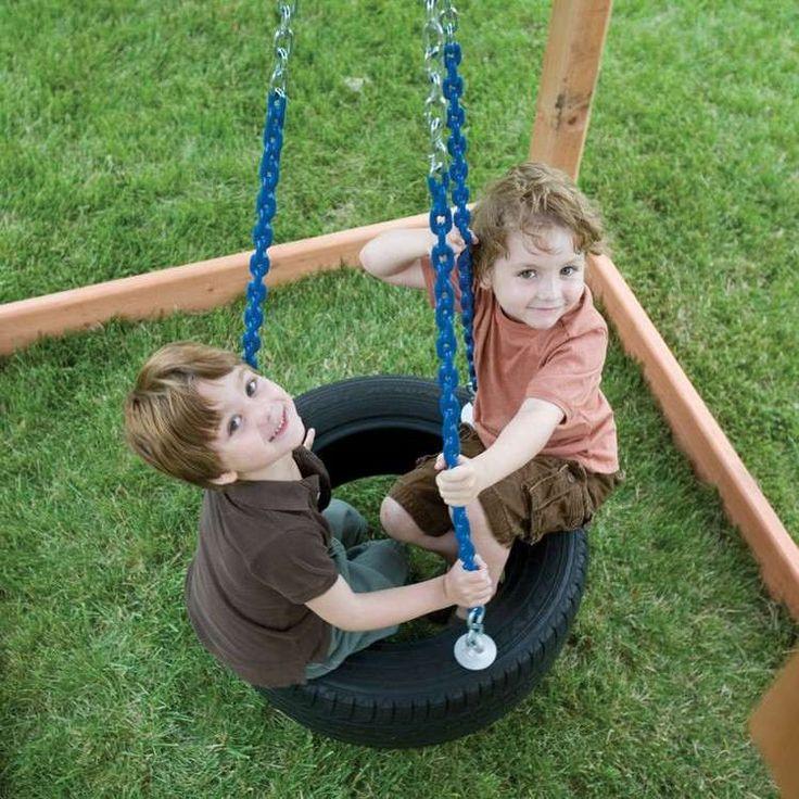 jeux de plein air -balancelle-pneu