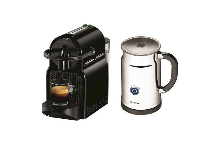 Pin for Later: The Top Target Black Friday Deals For the Kitchen Nespresso Inissia Espresso Machine Bundle ($140) Details: Nespresso Inissia Espresso Machine Bundle, originally $200, comes with the espresso maker and milk frother bundled together.
