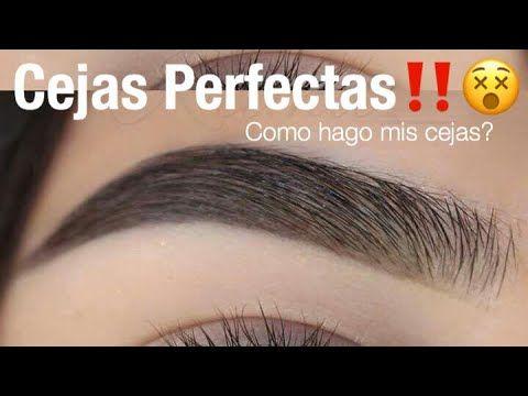 Cejas Perfectas Facil Paso a Paso | Monika Sanchez - YouTube