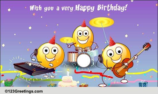 123Greetings Send An Ecard Free Singing Birthday Cards Facebook