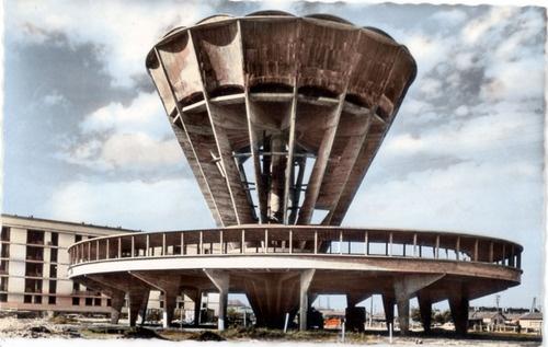 architectureofdoom: Château d'eau (water tower) of Guérinière (Caen), Guillaume Gillet, 1955-57