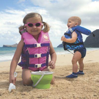 Kids Life Vest Infant Boy Blue Vests Swim And Kid