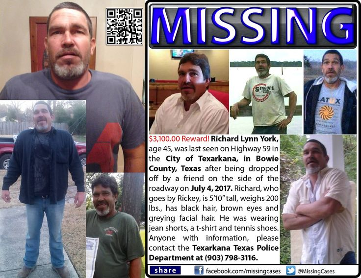 Find missing Richard Lynn York! features the case of a man who mysteriously disappeared two months ago on a highway. It doesn't add up. What happened?