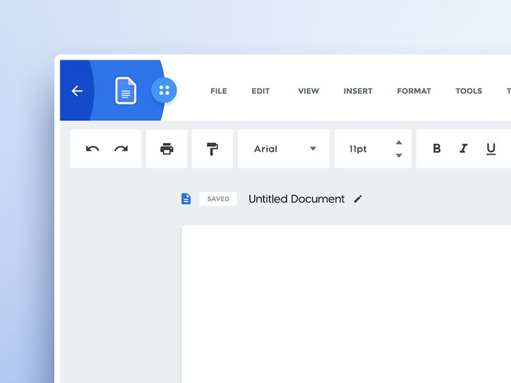 Google Docs Redesign Concept by Malik - Dribbble