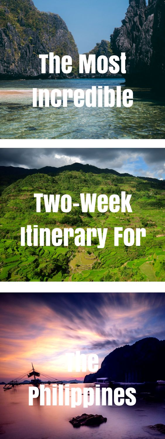 Get the best of both beaches and mountains with this awesome two-week itinerary for the Philippines!