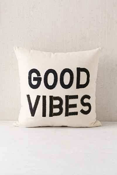 Magical Thinking Good Vibes Pillow - Urban Outfitters