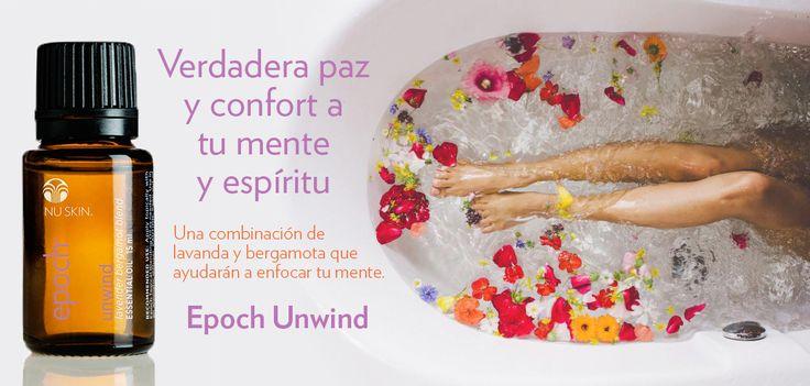 Epoch Unwind—Difunde en el ambiente o combínalo con el Aceite Difusor Tópico y aplícalo tópicamente a la piel para generar una sensación de balance y armonía.