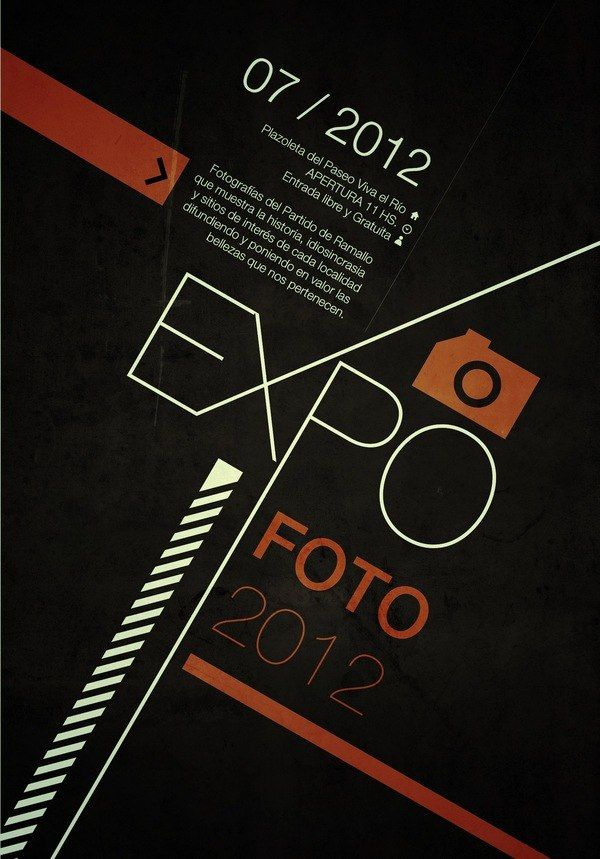 003 — EXPOFOTO SWISS STYLE POSTERS | Martín Liveratore