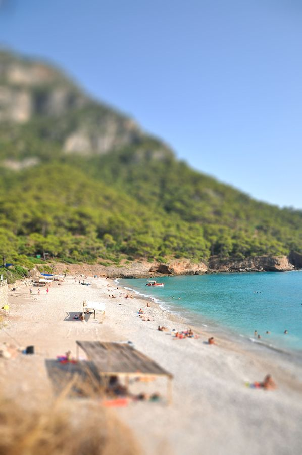 Kabak (Turkey). Take a steep ride down to the Mediterranean beach community.